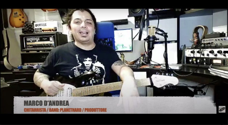 Video intervista con suonata per Long Live Rock'N'Roll